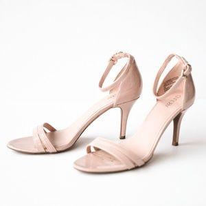 ABOUND Pale Pink / Neutral Heels 7.5